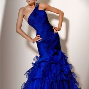 Jovani 100% Silk Gown